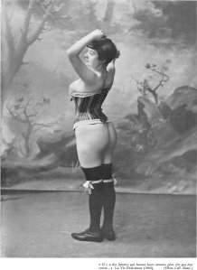 Corset, Paris 1902. Unknown via Wikimedia