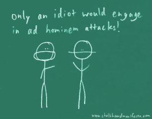 The ad hominem fallacy & the Tankard Reist affair