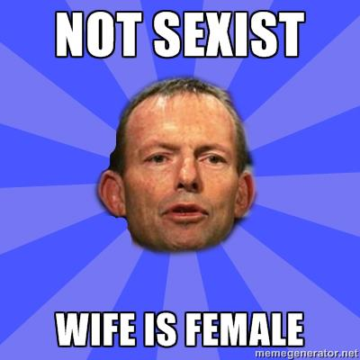 Abbott sexist