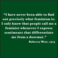Feminism. Feminists.
