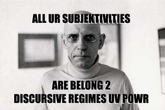 Foucault: Regimes of Power