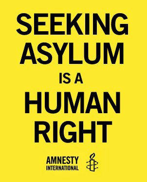 Asylum is a human right
