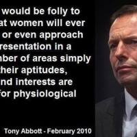 Why I don't care that there's only one woman in cabinet.