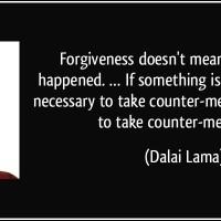 A Secular Forgiveness