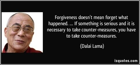 forgiveness Dalai Lama