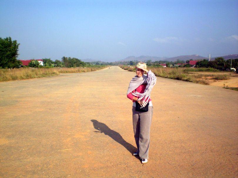 Russian Airstrip, Phonsavan Northern Laos