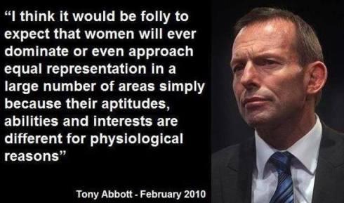 Abbott on women
