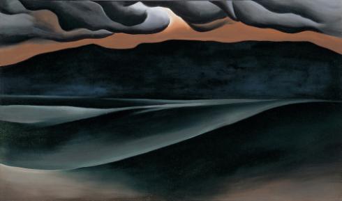 Storm Cloud. Georgia O'Keeffe
