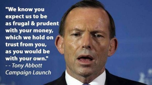 Abbott on frugality