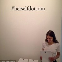 herself.com, the image and the battle to contain desire