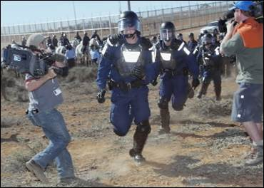 Woomera Detention Centre Riot SMH