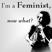 I don't effing care if you call yourself a feminist or not.