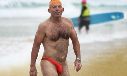 Abbott in Mankini