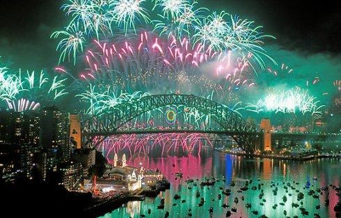 Fireworks NYE Sydney