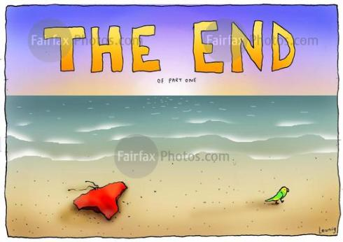 Leunig. The End