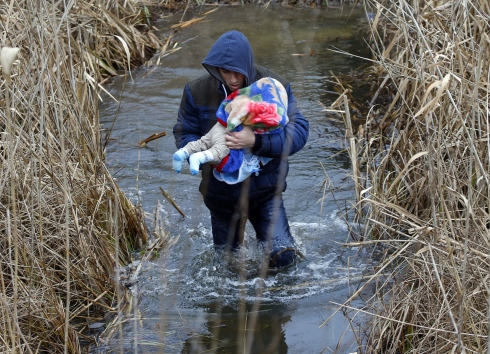 The Atlantic. Asylum Seekers flood into Hungary