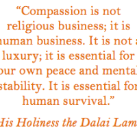 Let your heart bleed: compassion is not weakness