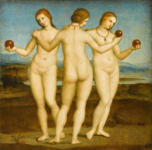 The Three Graces. Raphael
