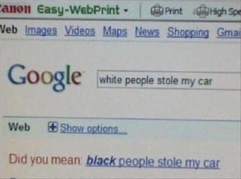 Racist Google?