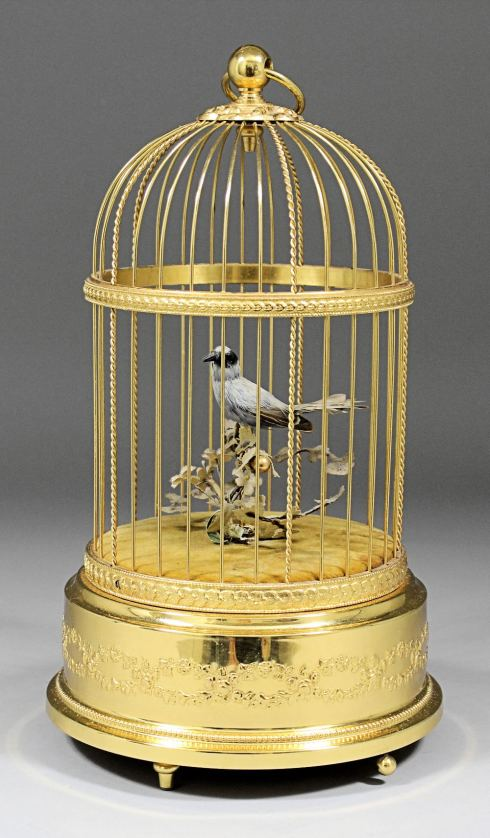 Only a bird in a gilded cage...
