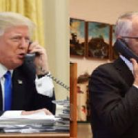 In which Turnbull is thoroughly played by Trump