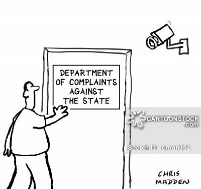 Department of Complaints Against the State.