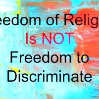 On religious freedom